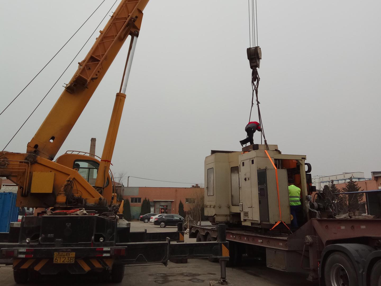 大件机械设备搬迁